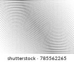 abstract halftone wave dotted... | Shutterstock .eps vector #785562265