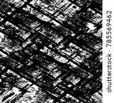 black white grunge pattern.... | Shutterstock . vector #785569462