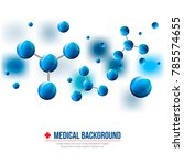 medical background. abstract... | Shutterstock .eps vector #785574655
