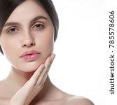 people  beauty woman face... | Shutterstock . vector #785578606