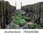 palisades with rocks at north... | Shutterstock . vector #785600386