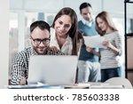 its better now. satisfied... | Shutterstock . vector #785603338