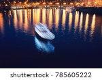 night cruise through the... | Shutterstock . vector #785605222