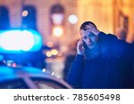 young man calling after a... | Shutterstock . vector #785605498