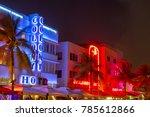 miami  usa   aug 30  2014  view ... | Shutterstock . vector #785612866