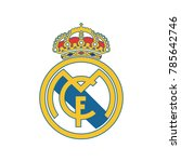 madrid  spain  december 13 ... | Shutterstock .eps vector #785642746