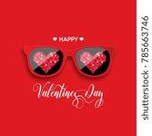 Happy Valentine's Day. Red...