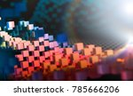 technology and science concept... | Shutterstock . vector #785666206