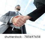 business partnership meeting... | Shutterstock . vector #785697658