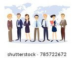 successful business team with...   Shutterstock . vector #785722672