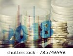 a multiple exposure of some... | Shutterstock . vector #785746996