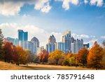 atlanta  georgia  usa midtown...   Shutterstock . vector #785791648