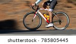 motion blur of a bike race with ...   Shutterstock . vector #785805445