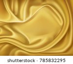 vector luxury realistic golden... | Shutterstock .eps vector #785832295