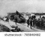 world war 1. british forces in... | Shutterstock . vector #785840482