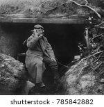 German Trench Telephone Statio...