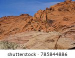 red rock canyon   erosion on... | Shutterstock . vector #785844886