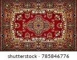 carpet. photo wallpaper for... | Shutterstock . vector #785846776