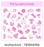 cartoon illustration of finding ... | Shutterstock . vector #785846986