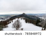 view on hohenzollern castle... | Shutterstock . vector #785848972