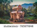 my  son ruins in vietnam | Shutterstock . vector #785879848