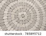 Cobblestone Pavement With...