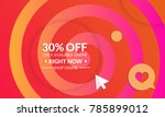 abstract geometric background... | Shutterstock .eps vector #785899012