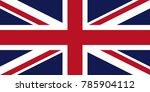 united kingdom flag. great... | Shutterstock .eps vector #785904112