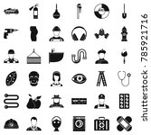 good profession icons set.... | Shutterstock . vector #785921716