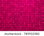 smooth line hearts background.... | Shutterstock .eps vector #785932582