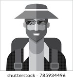 icon of tourist | Shutterstock . vector #785934496