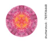 watercolor mandala. decor for... | Shutterstock . vector #785936668