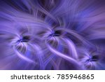 purple blue colored abstract... | Shutterstock . vector #785946865