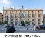 granada  andalucia  spain  ... | Shutterstock . vector #785974522
