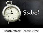 pewter antique alarm clock on...   Shutterstock . vector #786010792