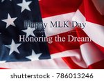 martin luther king day... | Shutterstock . vector #786013246