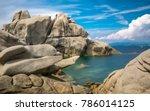 Rock Formations At Capo Testa ...