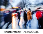 picture with camera made zoom... | Shutterstock . vector #786020236