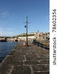 cornish harbour  uk. | Shutterstock . vector #78602356