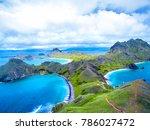 Aerial Padar Island