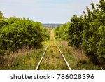 Single Track Railroad Going...