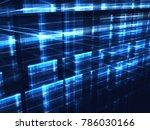 technology background  ... | Shutterstock . vector #786030166