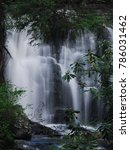 Small photo of summer time waterfall