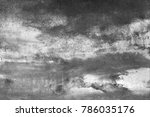 wall painting. handmade.... | Shutterstock . vector #786035176