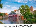 cityscape of wroclaw  poland   Shutterstock . vector #786073435