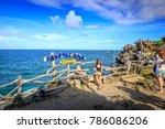 boracay  philippines   nov 19 ... | Shutterstock . vector #786086206