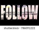 follow the money  | Shutterstock . vector #786091222