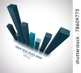 vector business background | Shutterstock .eps vector #78609775