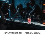 Stock photo classy cocktail bar 786101002