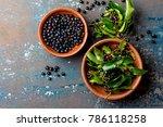 superfood maqui berry.... | Shutterstock . vector #786118258